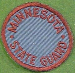Minnesota State Guard Patch WWII-Korea