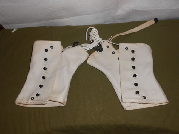 WW2 White Leggings