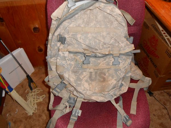 Used US Army ACU Assualt Packs (Fair-Poor Condition)
