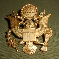 US Army Officer Hat Badge