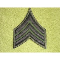 SGT Stripes from Vietnam War (subdued Green and Black)