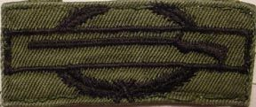 US Army Combat Infantry Badge patch subdued (EIB or CIB)