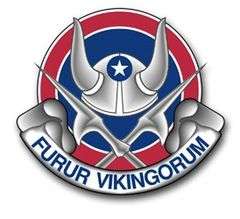 47th viking division crest