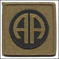 82nd Airborne Division Unit Patch in OCP
