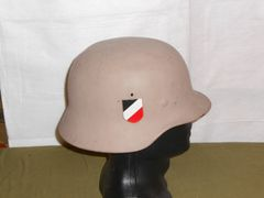 World War 2 German Helmet Original, repainted
