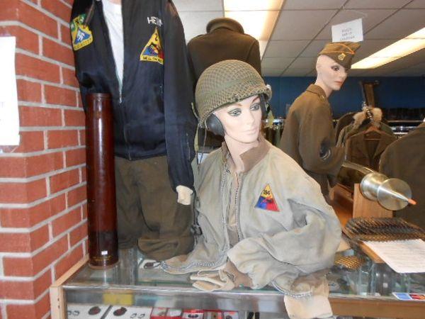 "Vintage WW2/Korean War 194th Tank Regiment ""Tankers Jacket"""