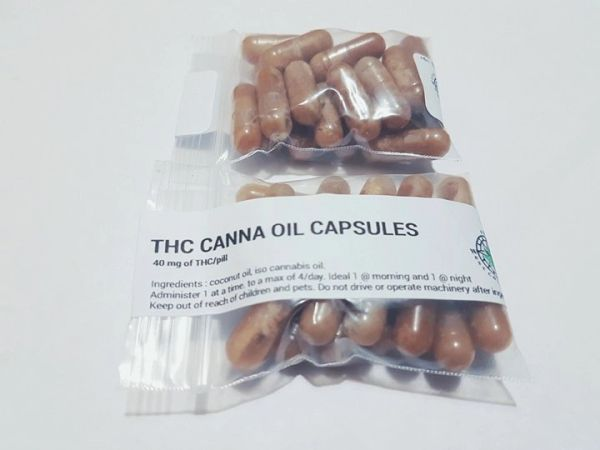 THC CANNA OIL CAPSULES