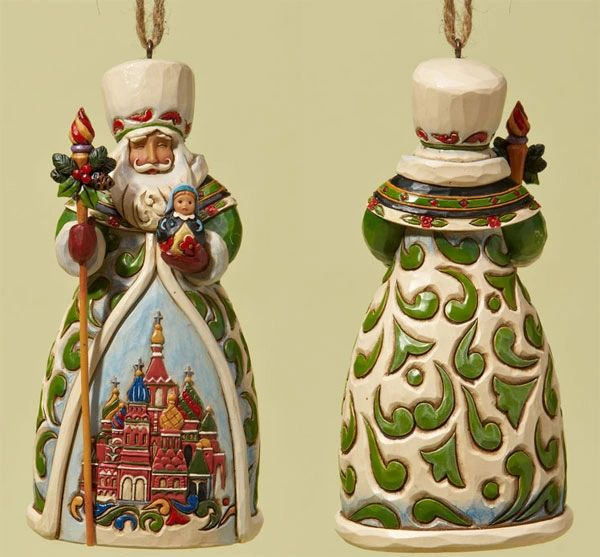 Jim Shore Russian Ornament