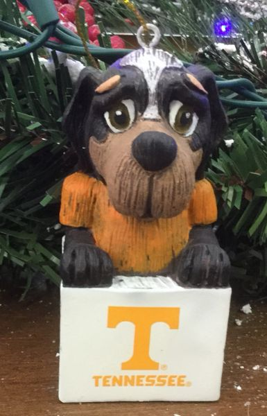 Tiki Mascot Tennessee Volunteers Ornament