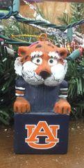 Tiki Mascot Auburn Tigers Ornament