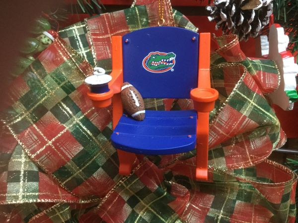 Florida Gators Stadium Chair Ornament