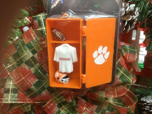 Clemson Team Locker Ornament