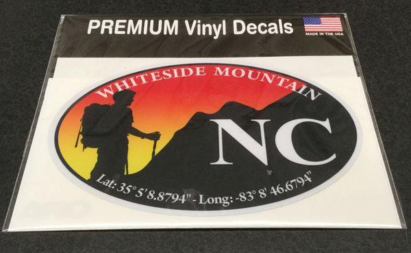 Premium Vinyl Decals Whiteside Mountain