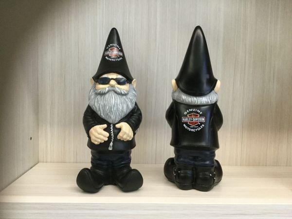 Harley Davidson Garden Gnome