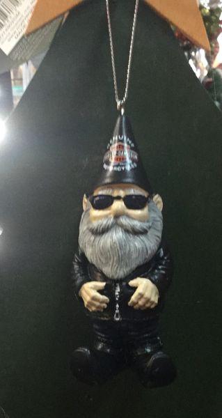 Harley Davidson Male Gnome Ornaments