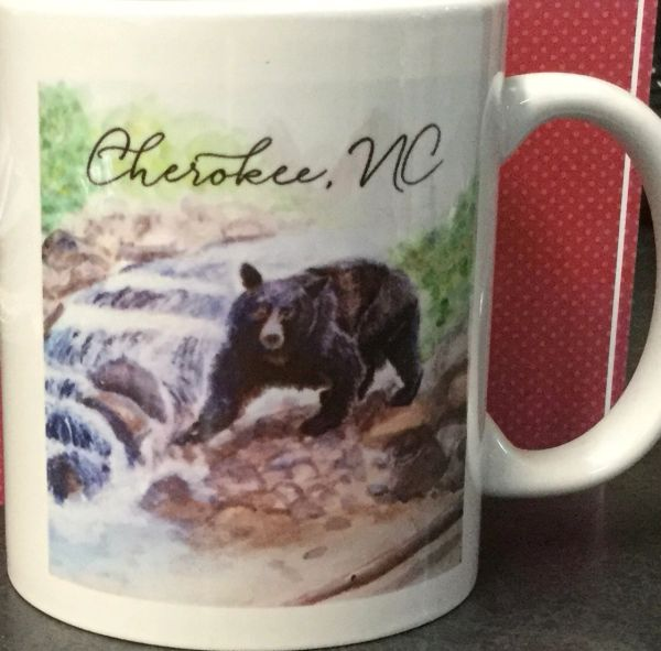 Cherokee NC Coffee Cup Black Bear