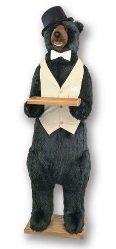 Ditz Design Butler Party Bear