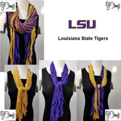 NCAA SEC Louisiana State Tigers LSU Scarf