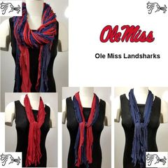 NCAA SEC Ole Miss Scarf Lightweight