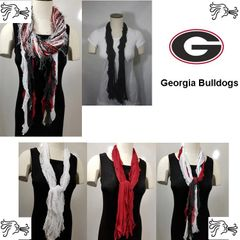 NCAA SEC Georgia Bulldogs Scarf Lightweight