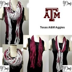 NCAA SEC Texas A&M Aggies Scarf Lightweight