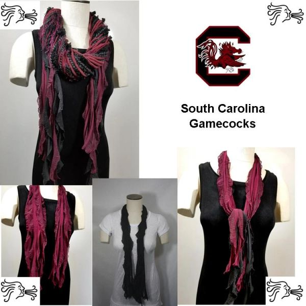 NCAA SEC South Carolina Gamecocks Scarf