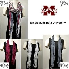 NCAA SEC MS State Bulldogs Scarf Lightweight