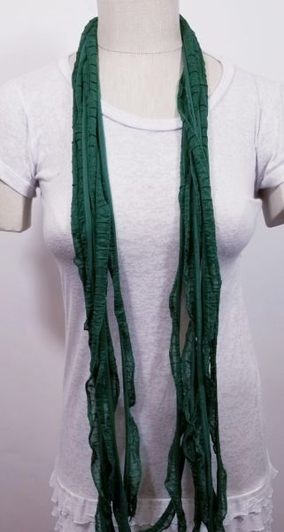 Forest Green Flutter Scarf