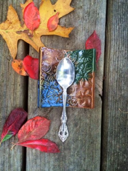 Spoon Rest - Curved Tile