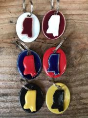 Mississippi Key Chains