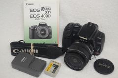 CANON EOS REBEL XTi KIT WITH EF-S 18-55mm F3.5-5.6 II ZOOM LENS