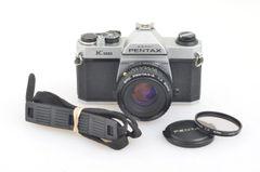 PENTAX K1000 w/PENTAX 50mm F2, UV, STRAP, MANUAL