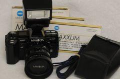 MINOLTA MAXXUM 7000 BUNDLE w/MAXXUM AF 35-70mm F4 ZOOM & FLASH