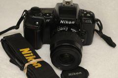 NIKON N6006 BODY w/NIKON AF NIKKOR 35-80mm f4-5.6D ZOOM LENS, CAP, STRAP