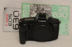 CANON EOS 630 35mm BODY, CAP, MANUALS