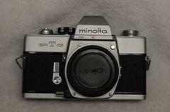 MINOLTA SRT-101 35mm BODY W/ORIGINAL STRAP
