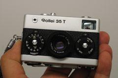 ROLLEI 35 T w/TESSAR 40mm F3.5 LENS, STRAP, CLA'D FULL 6 MONTHS WARRANTY