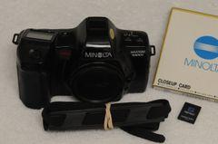 MINOLTA MAXXUM 7000si BODY w/2 PROGRAM CARDS, STRAP, CAP