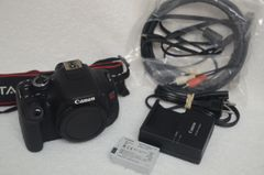 CANON EOS T3i BODY ONLY BUNDLE, BATT., CHARGER, CABLES