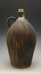 Wood-fired, rough-sided Moonshine Jug