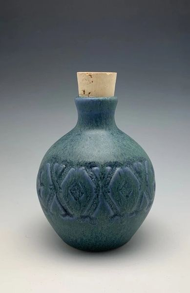 XXX Little Blue Grenade Flask