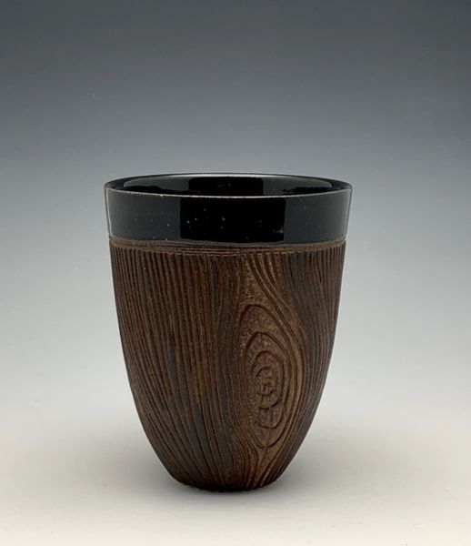 Black Woodgrain Tumbler