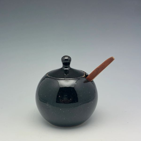 Little Black Sugar Jar