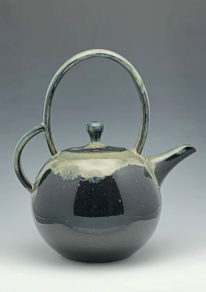 Black Galaxy Teapot