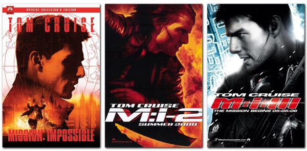 Mission: Impossible 1-3