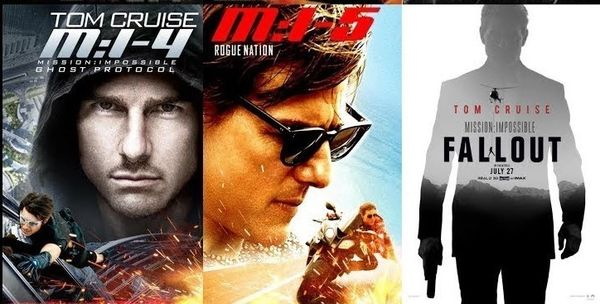 Mission: Impossible 4-6