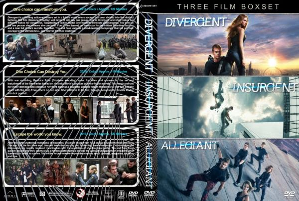 The Divergent Series Triple Pack