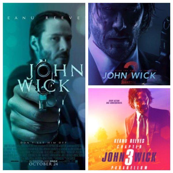 John Wick 1-3