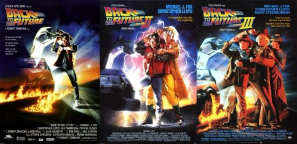 Back to the Future: Movies 1, 2, and 3