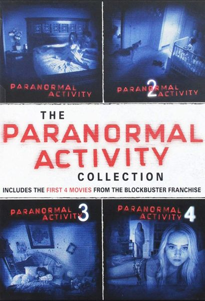 Paranormal Activity 1-4